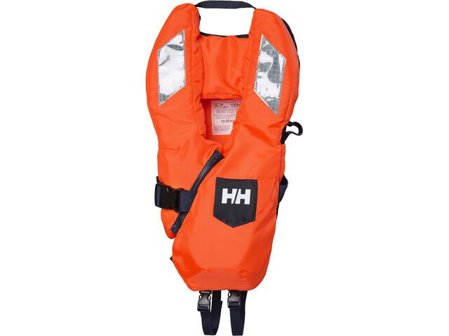 Helly Hansen Safe+ Chaleco Rescate Niños, fluor orange